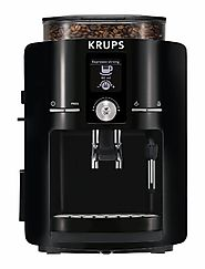 KRUPS EA8250 Espresseria Super Automatic Espresso Machine Coffee Maker with Built-in Conical Burr Grinder, 60-Ounce, ...