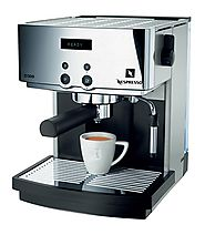 Nespresso D300 Automatic Espresso Machine, Gray and Chrome