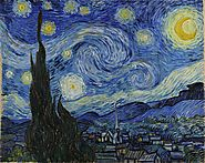 Starry Night – Vincent van Gogh.