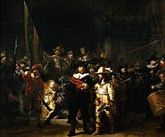 The Night Watch – Rembrandt van Rijn.