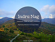 Camping and Paragliding in Indrunag @3990