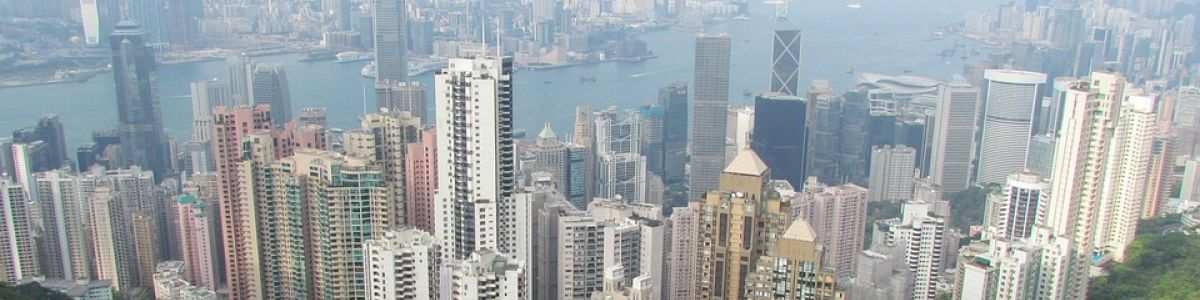 Headline for List of Towers in Wan Chai/HongKong - A Glimmering Concrete Jungle