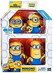 "Despicable Me Minions Movie Minions Deluxe Exclusive 5"" Action Figure 4-Pack"