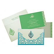 Laser Cut Wedding Invitations : D-8262A | 123WeddingCards
