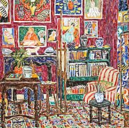 Mowbray – Mesmerising Paintings of Matisse in the Studio
