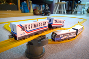 Super Express SkyTrain Papercraft Remix Set