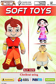 Buy Chhota Bheem Soft Toys, Rag Dolls & Plush Toys Online Best Price
