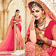 Shop the latest women fashion sarees online at Inddus