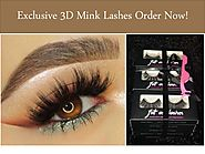 Exclusive 3D Mink Lashes Order Now!