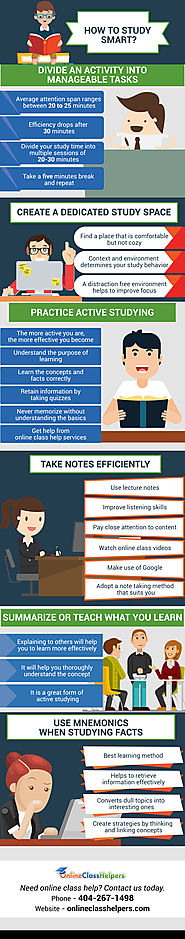 Infographic: How To Become An Effective Student?