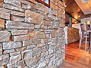 The importance of proper lighting on natural stone walls