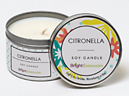 Bright Endeavors Soy Citronella Candle