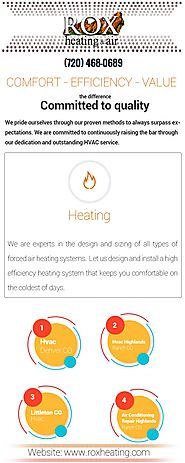HVAC Highlands Ranch CO