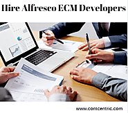 Hire Certified Alfresco ECM developers from India at ContCentric