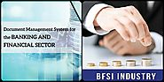 Document management system for BFSI industry at ContCentric