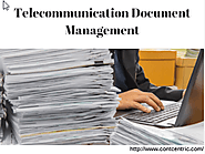 Telecommunication Data Management Solutions for Telecom Company