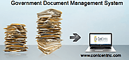 Government Agencies Document Management System by ContCentric