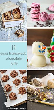 11 easy homemade chocolate gifts - Scrummy Lane