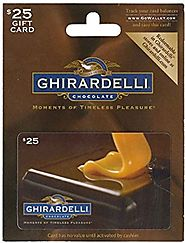 Ghirardelli Chocolate Gift Card - $25