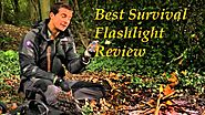 Best Survival Flashlights Review 2017 - Best Red Flashlight Review