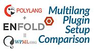 WordPress Multilanguage setup comparing WPML and Polylang on Enfold theme