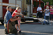 Firemen at our Block Party