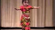 Vinaini's Dance Performance - 1 year Old Bharata Natyam - YouTube