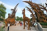 Large Sculpture for the St.Louis Zoo