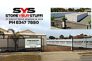 Self-Storage Units: Consider These Things before Renting by Store Your Stuff Adelaide