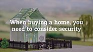 Check for These Security Features When Viewing Luxury Homes for Sale