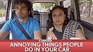 FilterCopy | Annoying Things People Do In Your Car | Ft. Ayush Mehra, Viraj Ghelani