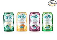Zevia Zero-Calorie, Naturally Sweetened Sparkling Water (Variety Pack)