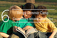 6 Things Summer Camp Counsellors Missed Telling You