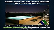 Leading landscape Designer in Arizona