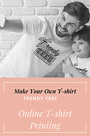 Design Your Own T-shirt Online