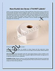 How Useful Are Dymo 1744907 Labels?
