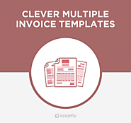 Multiple Page Invoice Template, Odoo Clever Multiple Invoice Template App -AppJetty