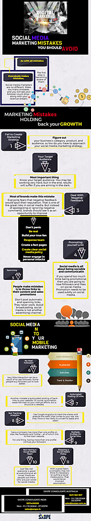 Infographic: Top 11 Social Media Marketing Mistakes You Should Avoid