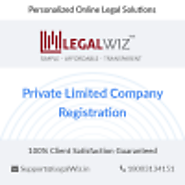 Register Private Limited Company Online ? LegalWiz
