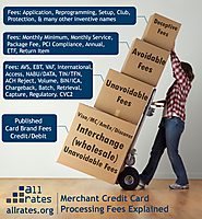 Simple explanation of merchant credit card processing fees. Find the best