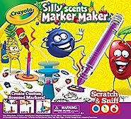 Crayola Silly Scents Marker Maker, Creative Art Tool, Make Your Own Scented Markers, Coloring Gift for Kids, Color Mi...