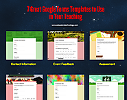 7 Great Google Forms Templates to Use in Your Teaching