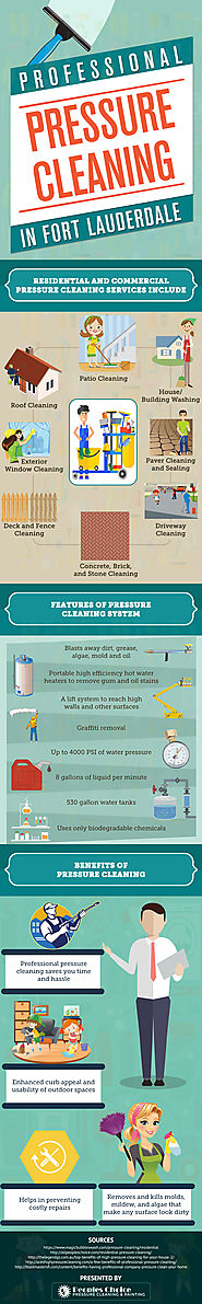 Benefits Of Availing Pressure Cleaning Services In Davie