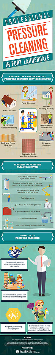 Good to Know Information about Pressure Cleaning in Hollywood