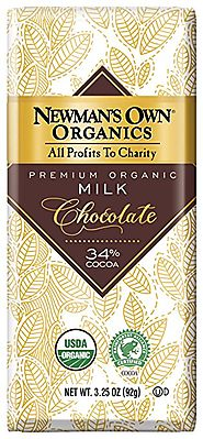 Newman's Own Organics Organic Premium Milk Chocolate Bar