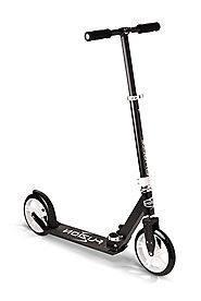 Fuzion Cityglide Adult Kick Scooter - 220lb Weight Limit - Folds Down - Adjustable Handle Bars - Smooth & Fast Ride