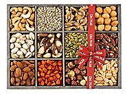 Gift Baskets, Mixed Nuts Gift Baskets and Seeds Holiday Gift Tray 12 Variety Gift Baskets, Freshly Roasted Snack Heal...