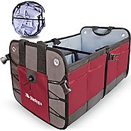 Car Trunk Organizer By Starling's:Eco-Friendly Premium Cargo Storage Container, Best for SUV, Truck, Auto & any Vehic...