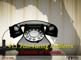 411 Pain Facing Problems Outside Florida