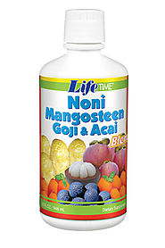 Lifetime Noni Mangosteen Goji Berry and Acai Juice Blend